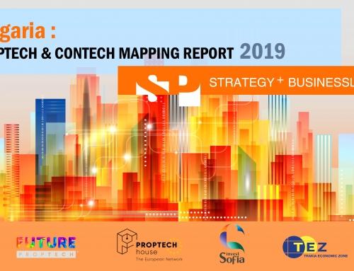 Излезе докладът България: Преглед на PropTech & ConTech индустрията 2019